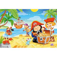 Пазл Пиратские сокровища, 40 деталей MAXI Castor Land Castorland