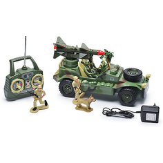 """Радиоуправляемая машинка Mioshi """"Военный джип с ракетной установкой"""", 30 см"""