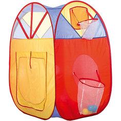 Игровая палатка Shantou Gepai с кольцом и корзиной, в сумке