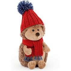 Мягкая игрушка Orange Ёжик Колюнчик в красной шапке, 20 см