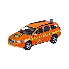 Машина 1:36 Volvo V70 Техпомощь, свет, звук, откр.двери, 13см Пламенный мотор