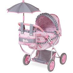"""Коляска для куклы DeCuevas """"Мартина"""" с сумкой и зонтиком, 65 см"""