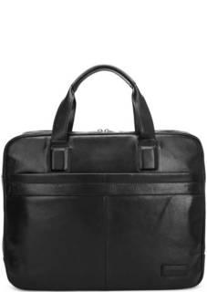 Черная сумка со съемным плечевым ремнем Sergio Belotti