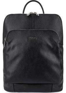 Кожаная сумка-рюкзак с карманами Fiato