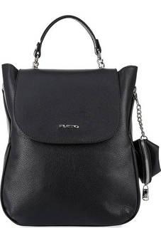 Кожаный рюкзак с откидным клапаном Fiato
