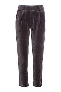 Серые велюровые брюки Manouk