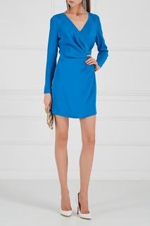 Голубое платье с драпировками Alexander Terekhov