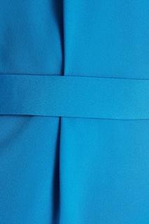 Голубое платье с асимметричным верхом Alexander Terekhov