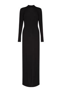 Черное платье-макси Alexander Terekhov