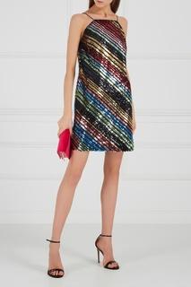 Платье-мини с пайетками Alexander Terekhov