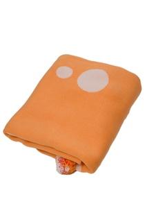 Оранжевое покрывало с помпонами «Цирк» La Petite Joie