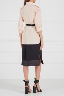 Черная юбка с бахромой Altuzarra