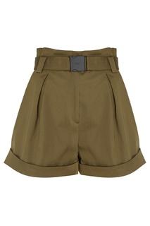 Хлопковые шорты с поясом No.21