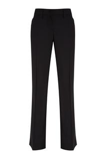 Черные хлопковые брюки No.21