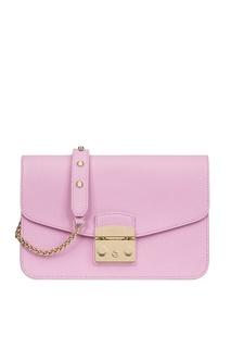 Розовая сумка Metropolis Furla