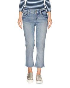 Джинсовые брюки-капри Trussardi Jeans