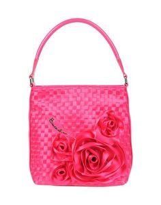 Средняя сумка из текстиля Braccialini