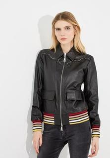 Куртка кожаная Twin-Set Simona Barbieri