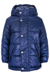 Утепленная куртка с высоким воротом Gulliver