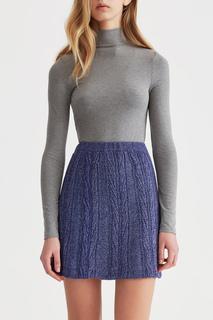 Короткая льняная юбка MIRSTORES