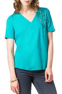 Свободная блузка с V-образным вырезом Helmidge