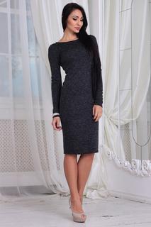 Платье-футляр с длинными рукавами Laura Bettini