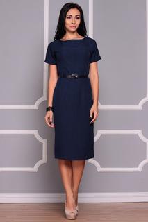 Прилегающее платье с короткими рукавами Dioni
