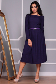 Платье А-фасона с длинными рукавами MAURINI