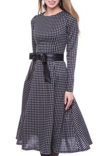 Приталенное платье с длинными рукавами Olivegrey