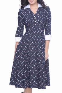 Приталенное платье с карманами Olivegrey