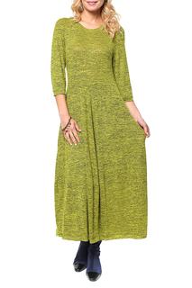 Полуприлегающее трикотажное платье с рукавами 3/4 Kata Binska