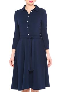 Полуприлегающее платье с застежкой на пуговицы A.Karina