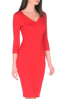 Приталенное платье с V-образным вырезом A.Karina