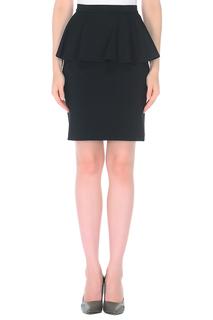 Полуприлегающая юбка с баской A.Karina