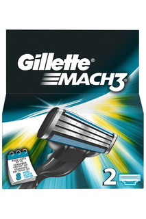 Кассеты GilletteMach3, 2 шт GILLETTE