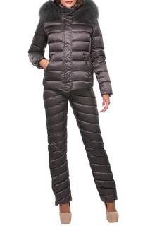Прямая куртка с ветрозащитной планкой Conso