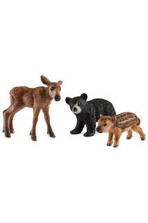 Детеныши лесных животных Schleich