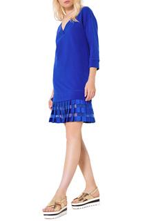 Прямое платье с V-образным вырезом #ябренд