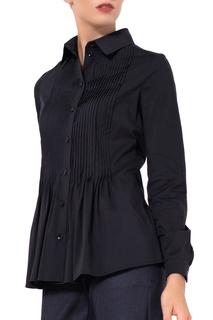 Полуприлегающая блузка с длинными рукавами JN