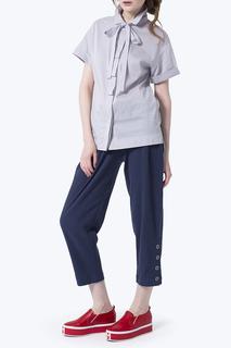 Прямая блузка с лентой JN