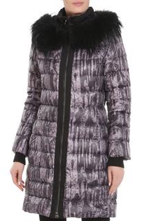 Полуприлегающее пальто с ремнем Acasta