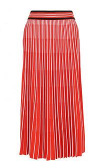 Плиссированная юбка-миди с широким поясом MRZ
