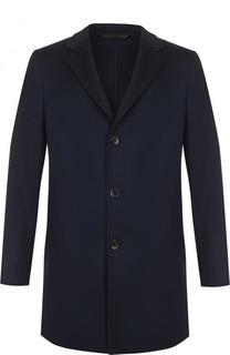 Однобортное кашемировое пальто с отложным воротником Loro Piana