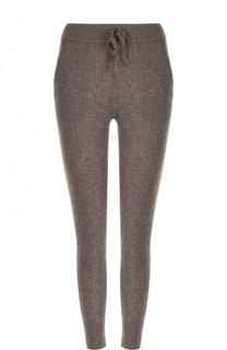 Укороченные кашемировые брюки-скинни James Perse