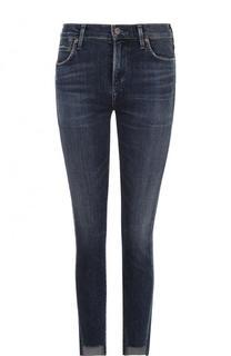 Укороченные джинсы-скинни с потертостями Citizens Of Humanity