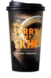 Тканево-гелевая маска для сияния Im Sorry For My Skin в стакане Ultru