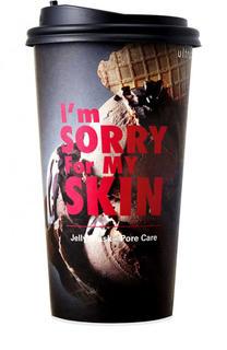 Тканево-гелевая маска для сужения пор Im Sorry For My Skin в стакане Ultru