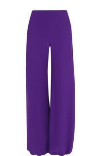 Шелковые однотонные брюки с карманами Emilio Pucci