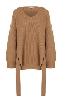 Пуловер свободного кроя из смеси шерсти и кашемира Stella McCartney