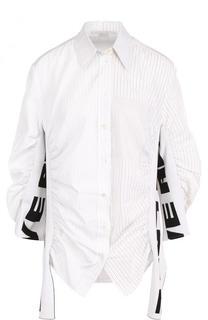 Блуза свободного кроя с драпировкой Stella McCartney